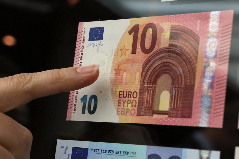 European Central Bank Presents New 10 Euro Note