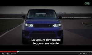 Range Rover SVR spinta al limite, il video
