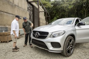 Mercedes GLE Coupè, debutto nel mondo di Jurassic World