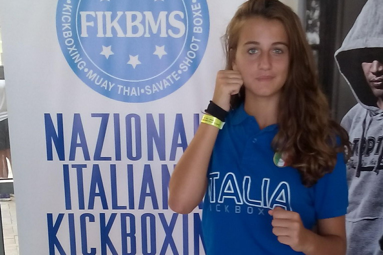Nicole Carassiti - Team Catarci Kick Boxing