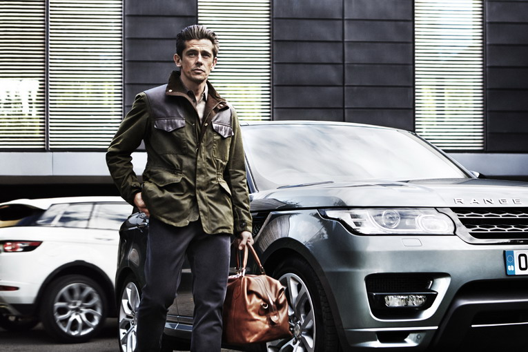Mens Land Rover - Traveller Wax Jacket