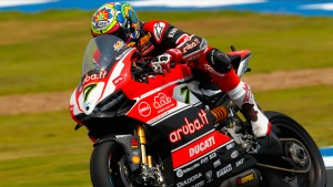L'Aruba.it Racing – Ducati Superbike Team carico dopo il test di Misano