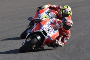 Test per i piloti del Ducati Team sul Misano World Circuit