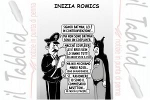 La vignetta di And – Arriva il Romics