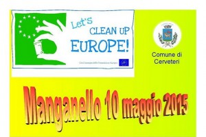 Cerveteri – Let's Clean Up Europe, puliamo la Valle del Manganello