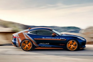 Debutto della Jaguar F-TYPE Bloodhound Rapid Response Vehicle  al Coventry MotoFest