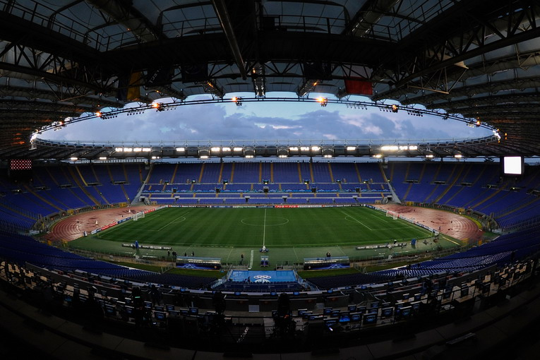 ROMA, ITALY - FEBRUARY 16:  A general view of the Stadio Olimpico held on February 16, 2011 in Roma, Italy.  (Photo by Claudio Villa/Getty Images)