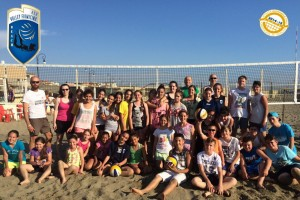 Pallavolo – Volley Fiumicino: pienone all'open day per le giovanili del Beach Volley