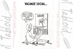 La vignetta di And – Le Vacanze Social