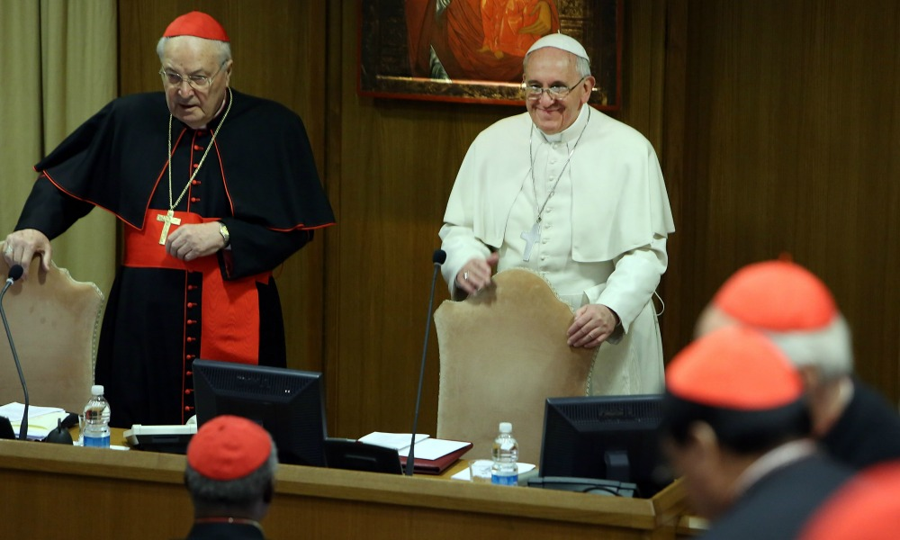 <> on February 21, 2014 in Vatican City, Vatican.