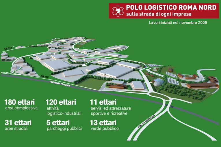 polo logistico roma nord