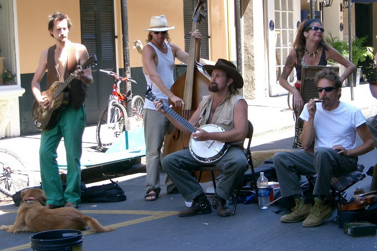 New_Orleans_-_street_music
