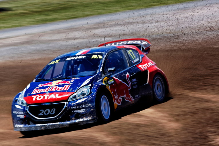 Davy Jeanney at the FIA World RallyCross Championship Rosario Circuit in Argentina on the 29th November 2015
