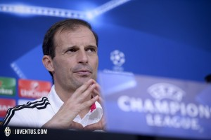 "Calcio – Champions League, Allegri: ""Vincere per qualificarci"""