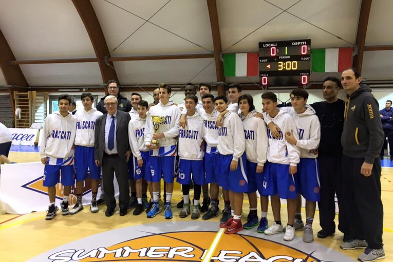 under 16 basket frascati al torneo hsc
