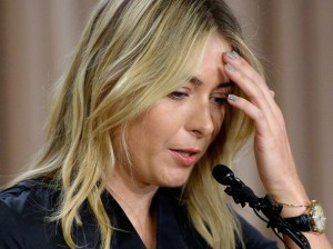 Tennis: Maria Sharapova positiva all'antidoping