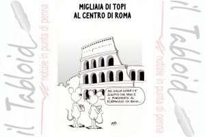 La Vignetta di And – Allarme topi al Colosseo