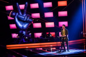 Alle Blind di The Voice of Italy Claudio di Cicco da Latina