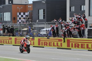 Mondiale SBK – Aragon, doppietta per il team Aruba.it Racing