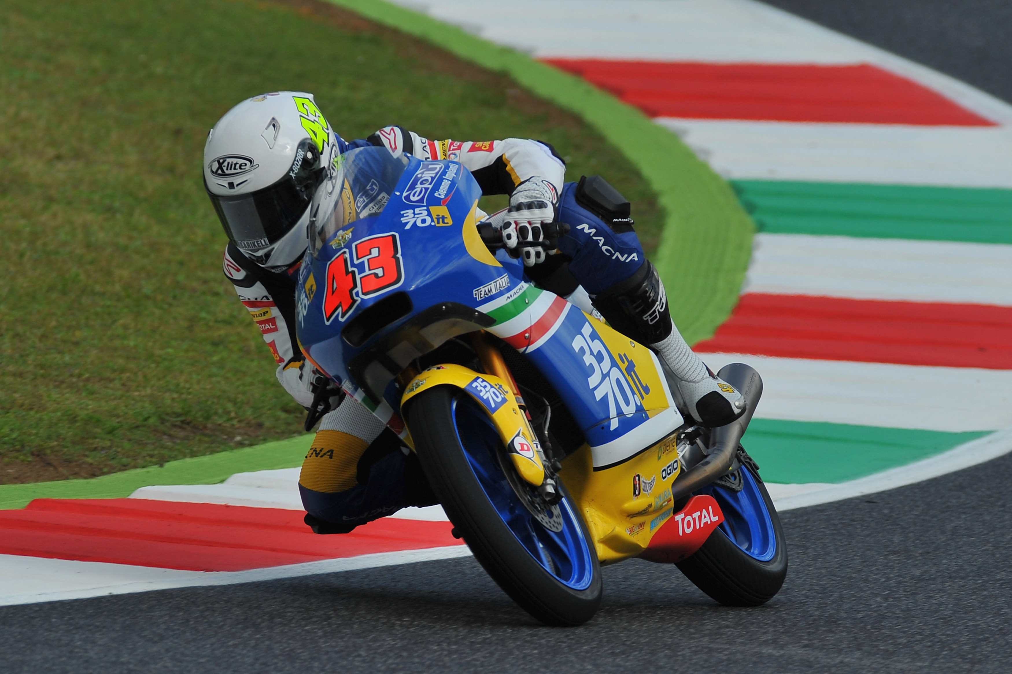 2016 3570 Team Italia during the race 06 GP of Italy in Mugello Circuit in Scarperia near Florence (Italy) during the 2016 Season of World Motorcycle Championship 2016 © 2016 mirco lazzari mircolazzari@yahoo.it