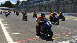 Yamaha 125 Cup 2016, il rookie Alessandro Arcangeli conquista Vallelunga
