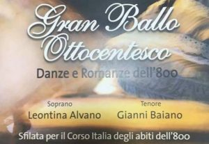 Balli dell'''800 in scena a Quarto