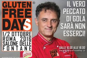 Roma, tutto pronto per la IV° Edizione del Gluten Free Days-Wellness Food Fest