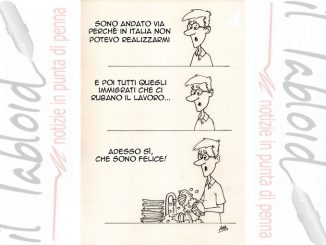 La Vignetta di And - Vado a lavorare all'estero...