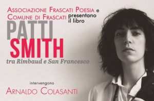 Frascati, Patti Smith tra Rimbaud e San Francesco