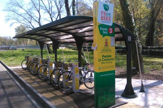 Frosinone, bike sharing gratuito per gli studenti
