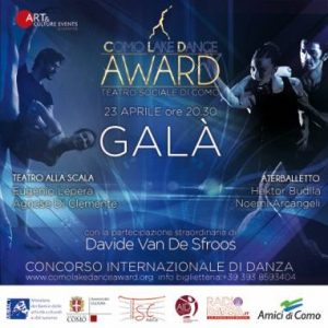 GALA' del COMO LAKE DANCE AWARD