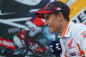"MotoGp, Marquez: ""Speravo di fare bene per la classifica"""