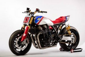 "Honda Rebel e CB1100TR concept a ""The Bike Shed"" 2017 di Londra"