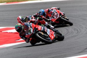 Sbk: ara 1 sfortunata per il team Aruba.it Racing – Ducati a Misano