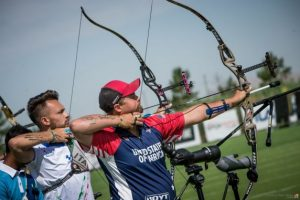 Tiro con l'arco, Coppa del Mondo 3° prova: dopo le qualifiche il mixed team compound per il bronzo