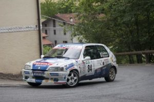 Gabriele Catalani in vetta al Premio Rally Automobile Club Lucca