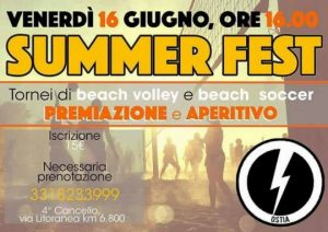 "Ostia, Blocco Studentesco: ""Una Summer fest per far rivivere il litorale"""