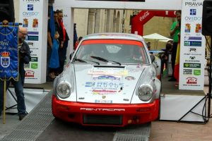 Da Zanche per la prima volta all'Ypres Historic Rally