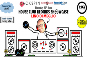 Giovedì 29 giugno, alle 20  al Temporary Vinyl, lo showcase di House Club Records