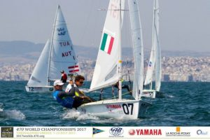 470 World Championship, Ferrari-Calabrò in Medal Race