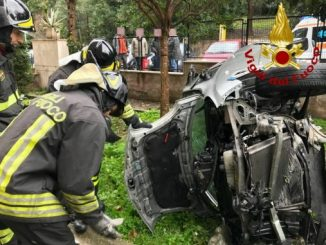 Incredibile incidente in Via Gualtiero: codice giallo per il conducente