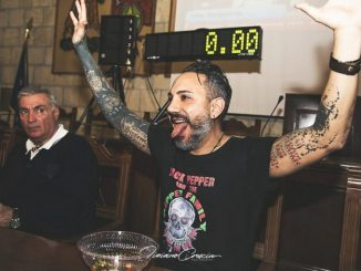 Tarquinia, per Giancarlo Gasparotto arriva il certificato Guinness World Records
