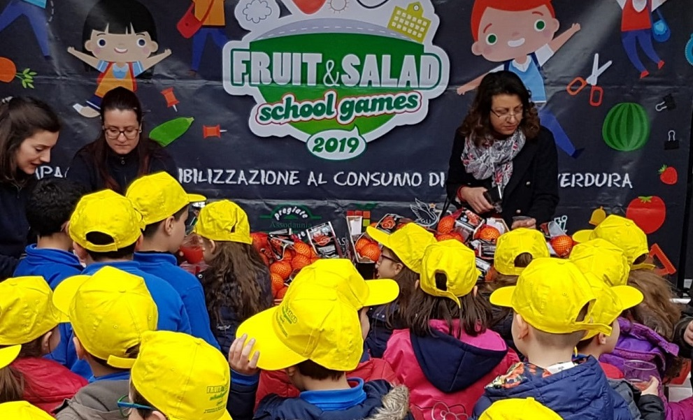 Fruit&Salad School Games ritorna in Campania