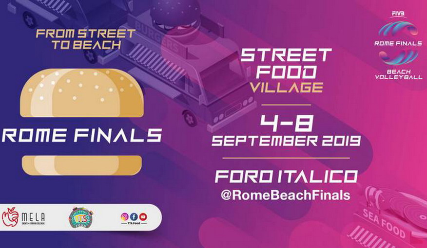 Roma, Street Food Village al Rome Beach Finals